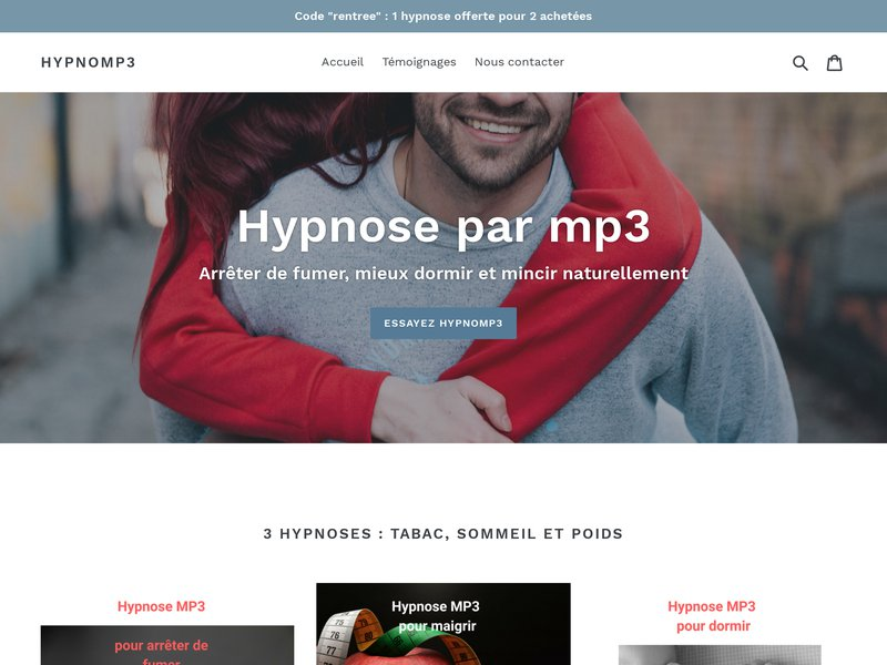 HYPNOMP3, session audio mp3 pour la guérison par l'hypnose
