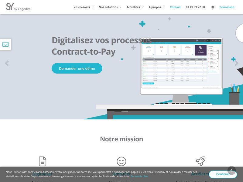 Groupe Cegedim, votre expert en transformation digitale