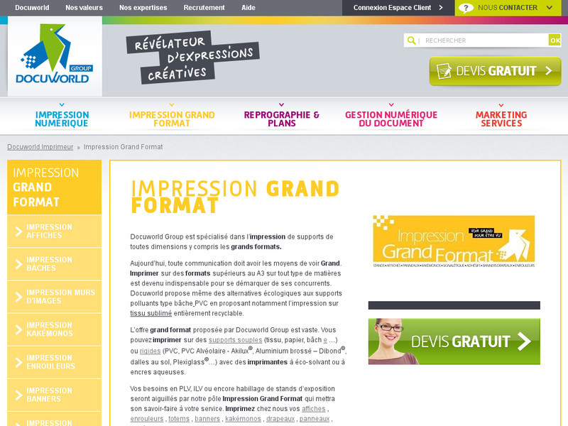 Orner sa devanture avec des supports marketing