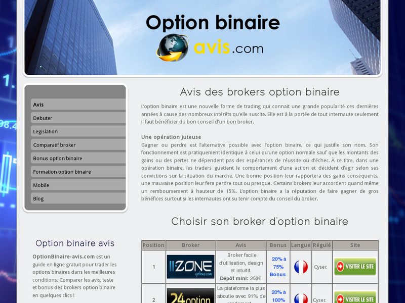Trading option binaire paypal