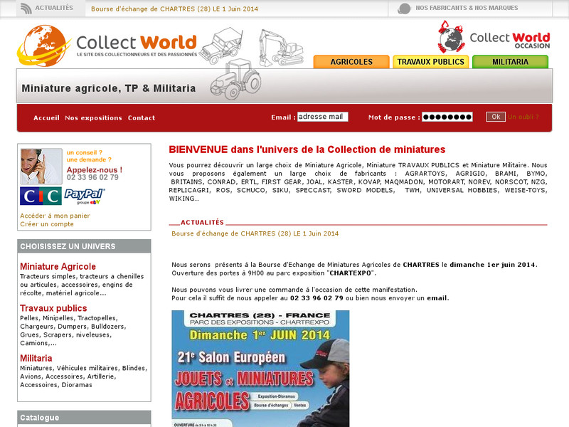 Collect World : le monde agricole version miniature