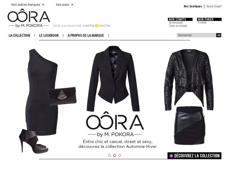 Collection de vêtements M. Pokora : Oôra