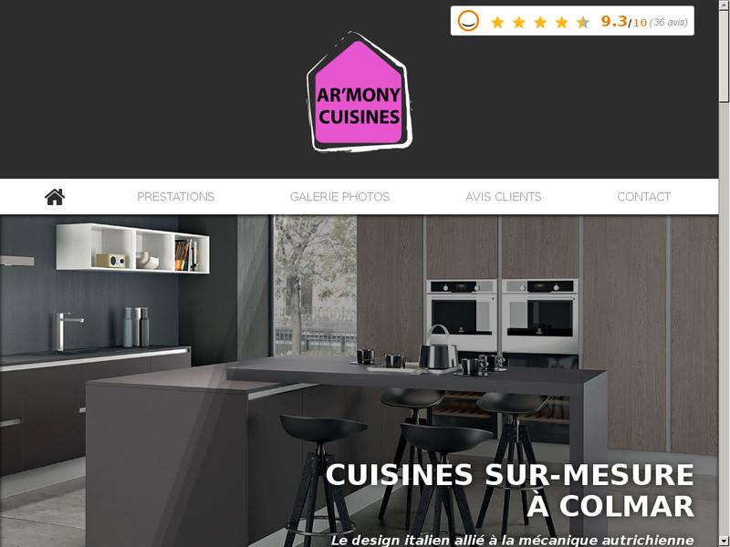 Armony Cuisine Cuisine Sur Mesure à Colmar Dans Le HautRhin - Armony cuisine colmar