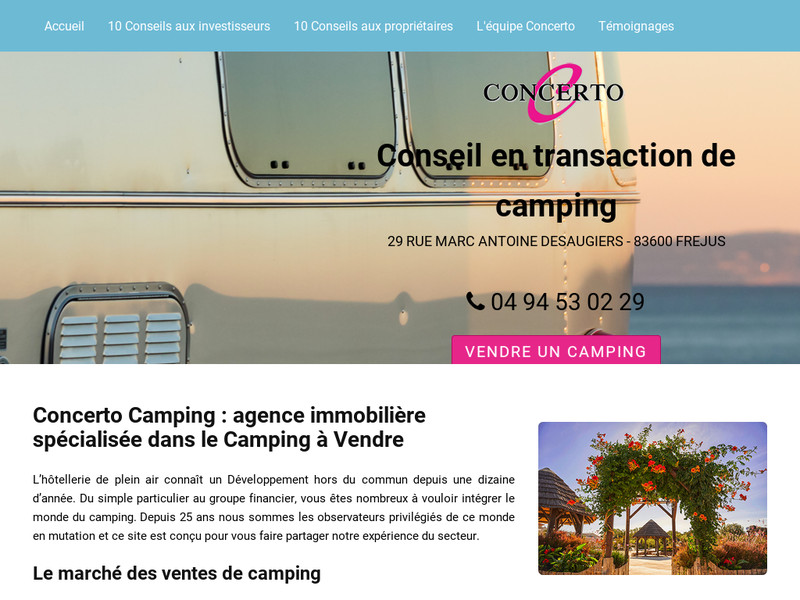 Concerto Camping