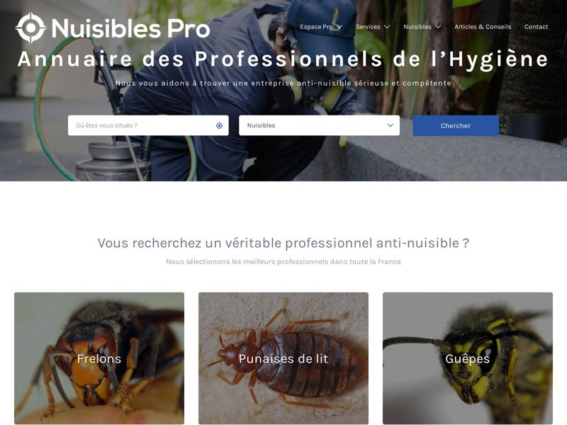 Nuisibles Pro