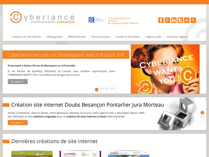 Agence Web Cyberiance