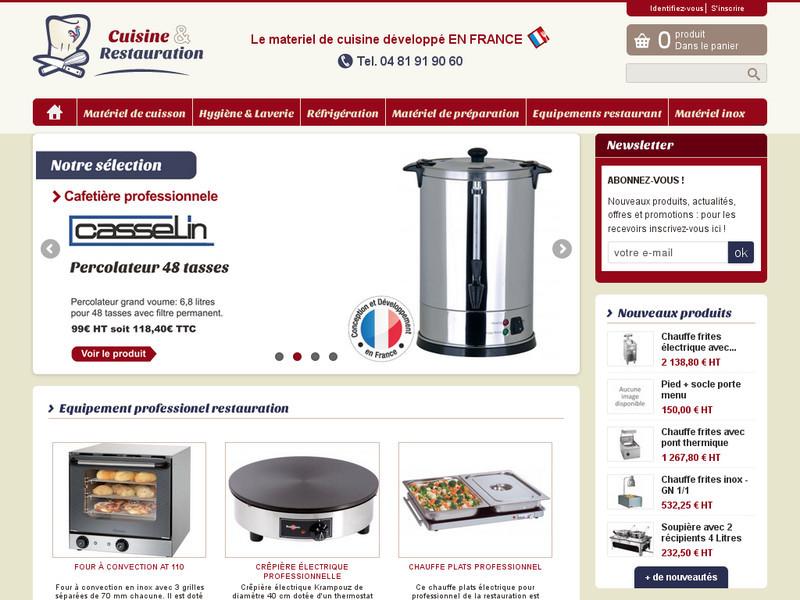 Cuisine et restauration mat riel pour cuisine for Cuisine et restauration