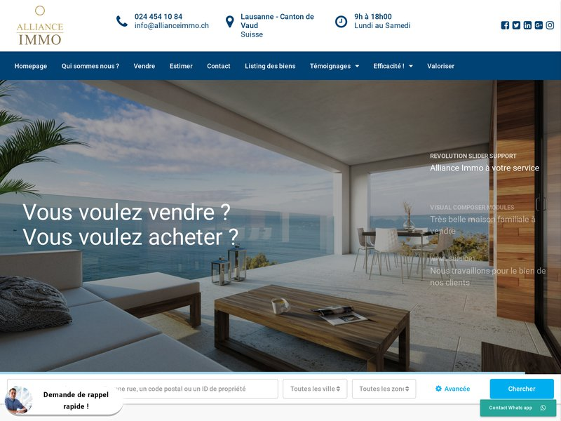 Alliance Immobilier Suisse