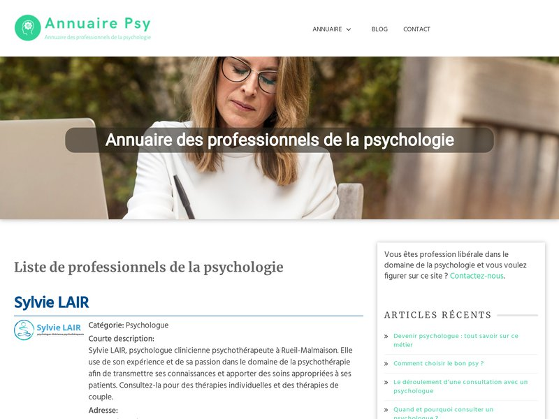 Annuaire Psy