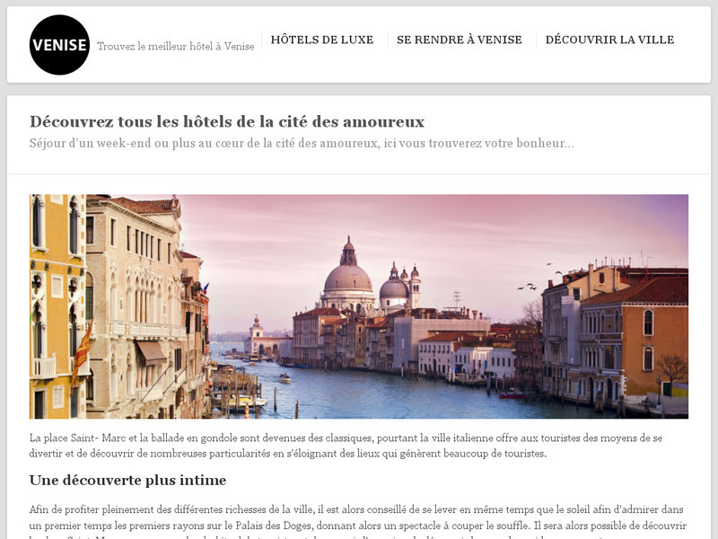 H tels venise comparateur d 39 h tels venise for Hotel comparateur