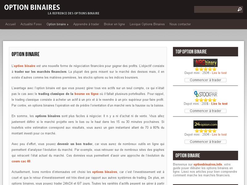 Brokers Options Binaires interdits par lAMF  andlilcom
