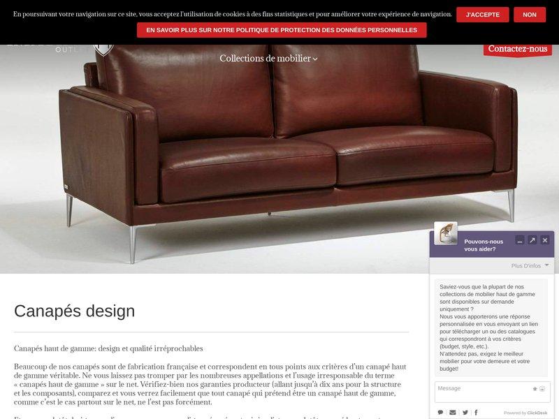 imagine outlet meubles haut de gamme. Black Bedroom Furniture Sets. Home Design Ideas