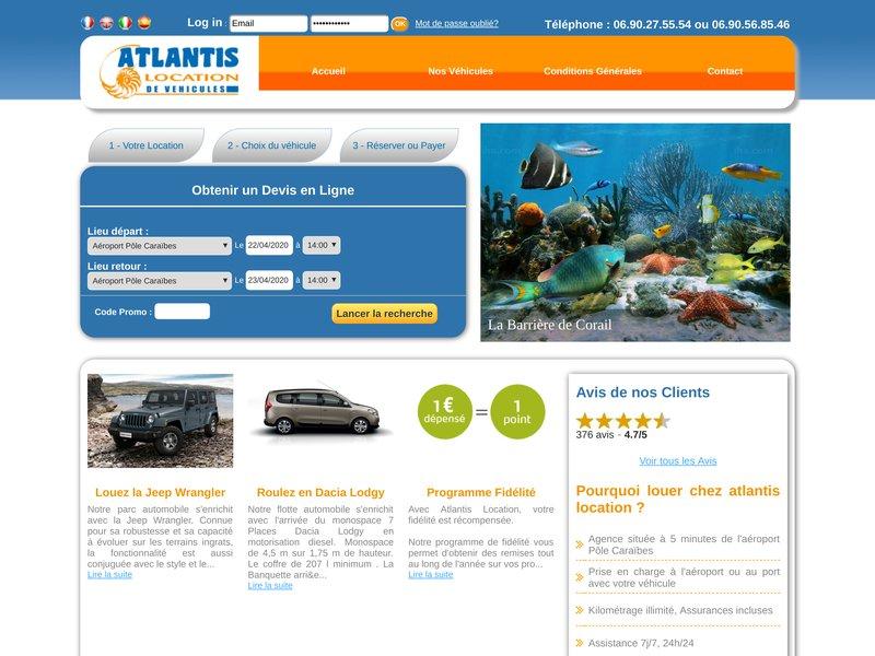 Atlantis Location Toute La Location De Voiture En Guadeloupe