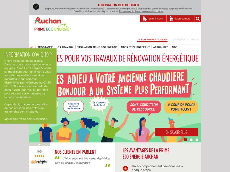 Alto b timent entreprise de r novation paris - Auchan eco energie ...