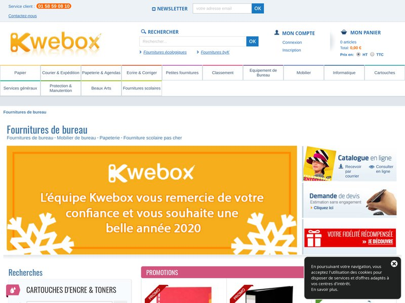 kwebox boutique en ligne d di e aux fournitures de bureau. Black Bedroom Furniture Sets. Home Design Ideas