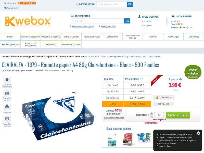 Kwebox boutique en ligne d di e aux fournitures de bureau for Boutique fourniture bureau
