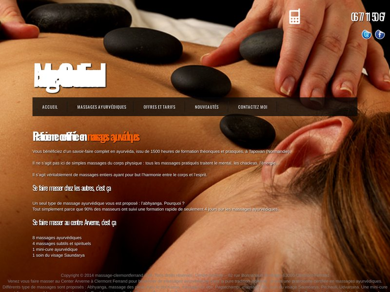 Massage à Clermont Ferrand