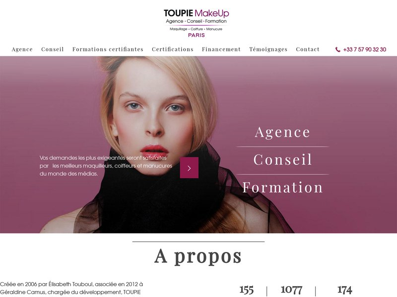 Toupie Make Up