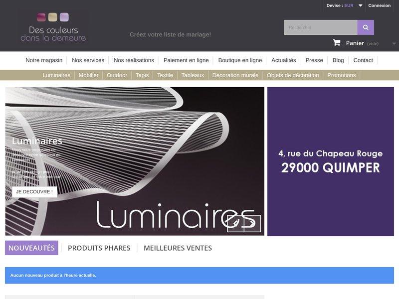 Decoration d interieur en ligne meilleures images d for Boutique deco en ligne