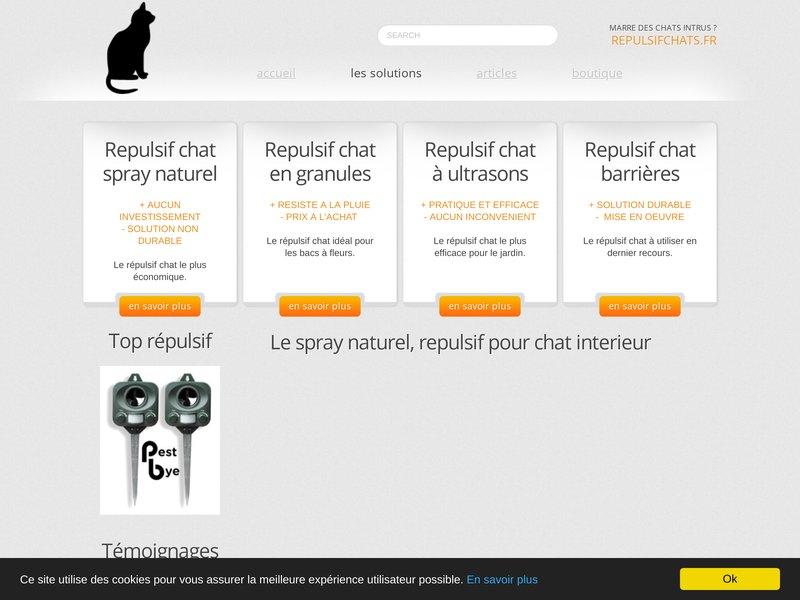 Repulsif chats comment choisir le bon r pulsif pour chat - Repulsif pour chats dans les jardins ...