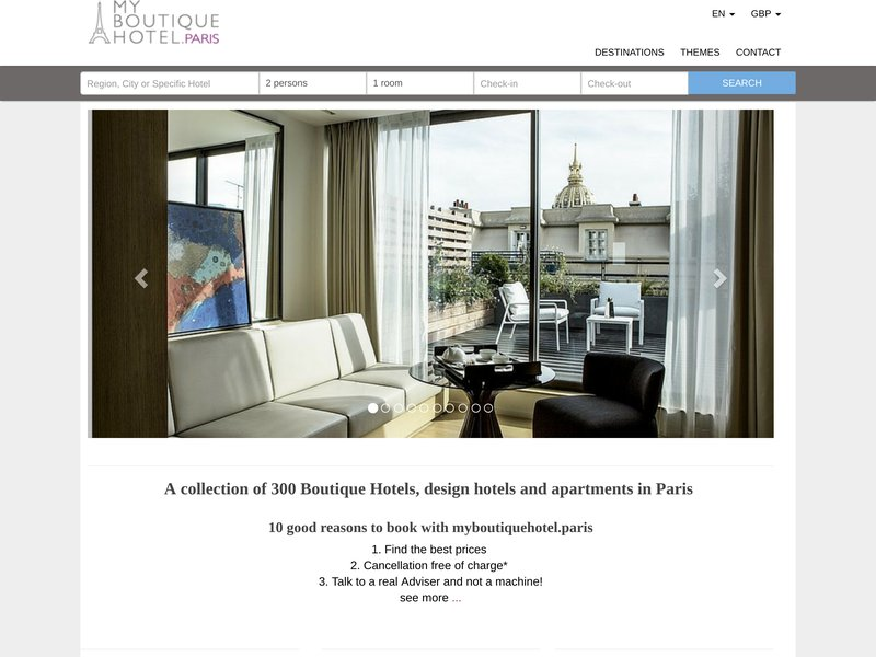 My Boutique Hotel Paris