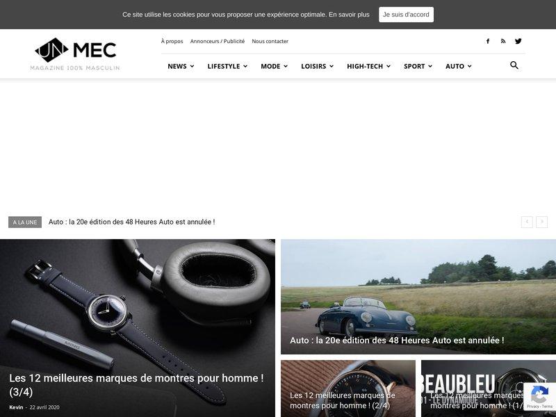 Site pour mec