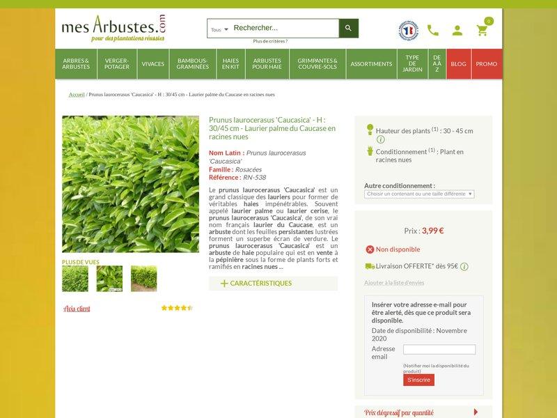 mes arbustes vente en ligne de plantes et arbustes. Black Bedroom Furniture Sets. Home Design Ideas