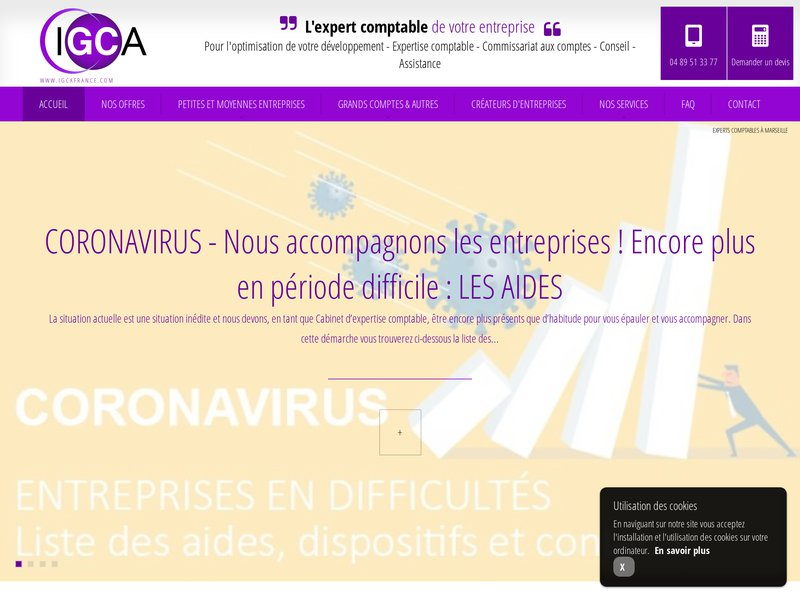 igca cabinet d expertise comptable 224 marseille