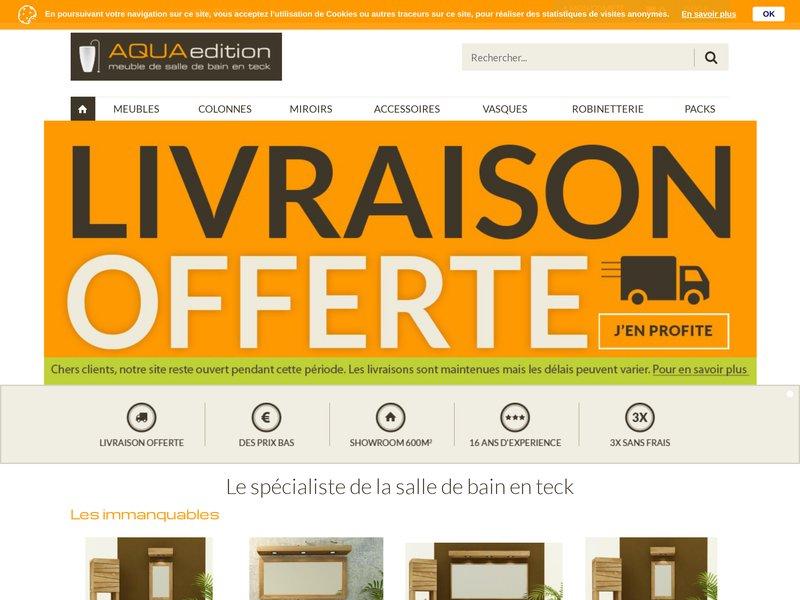 Aqua Edition Boutique En Ligne De Mobilier En Teck Pour