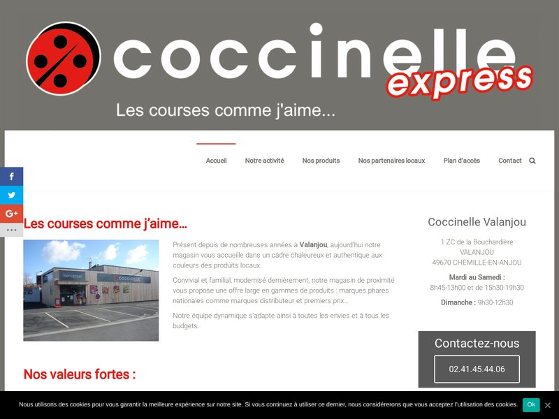 Coccinelle Express Valanjou