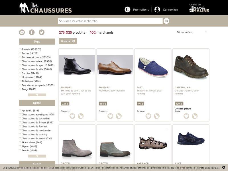 mes chaussures guide pour acheter vos chaussures en ligne. Black Bedroom Furniture Sets. Home Design Ideas