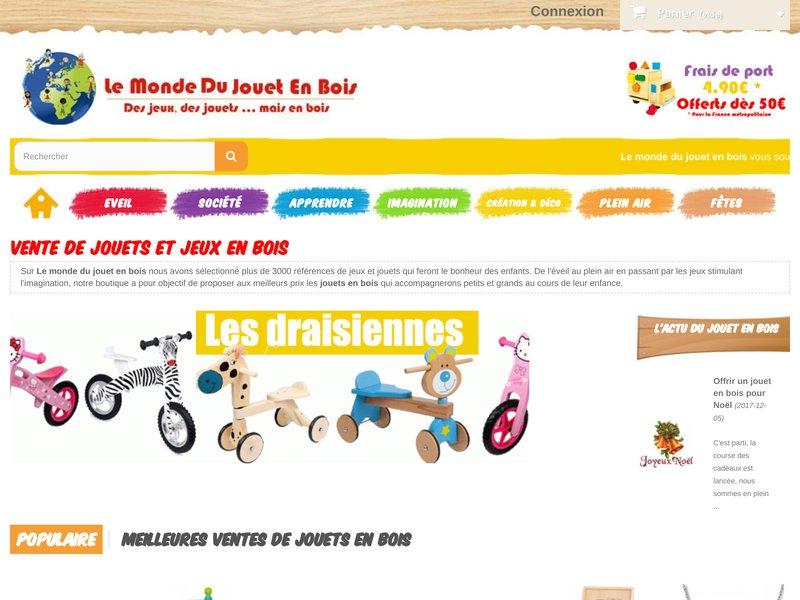 Le monde du jouet en bois  Site internet pour lachat de jouets en  ~ Le Monde Du Jouet En Bois