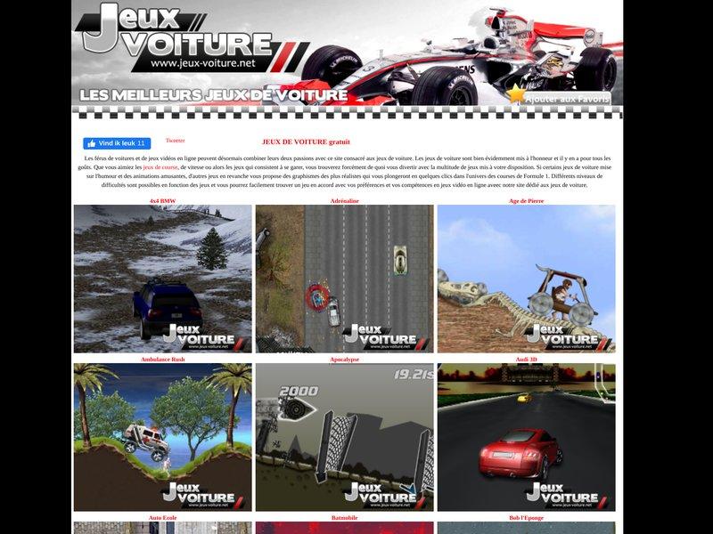 jeux2auto pour s 39 amuser avec un volant entre les mains. Black Bedroom Furniture Sets. Home Design Ideas