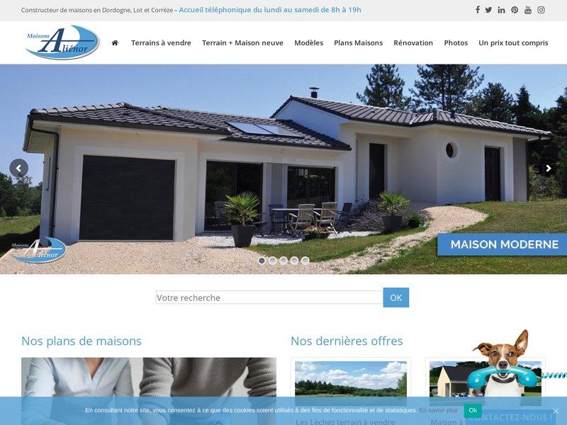 Maison alienor portail internet pour la promotion de nos for Maisons alienor