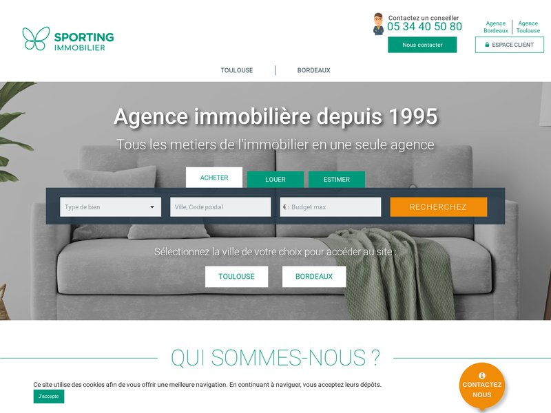 Sporting immobilier