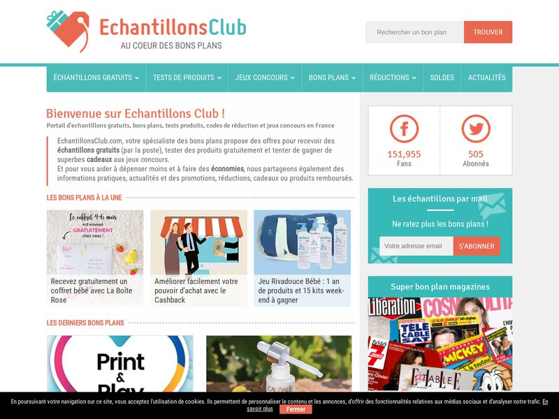 Echantillons Club