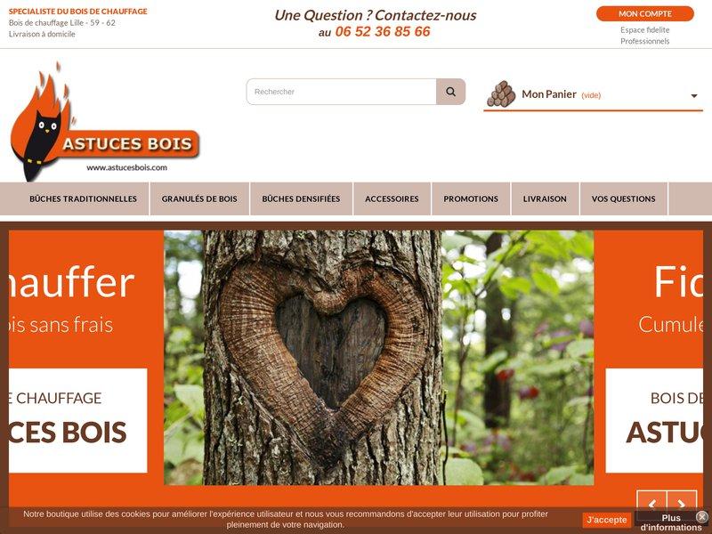 astuces bois site de vente de bois de chauffage en ligne. Black Bedroom Furniture Sets. Home Design Ideas