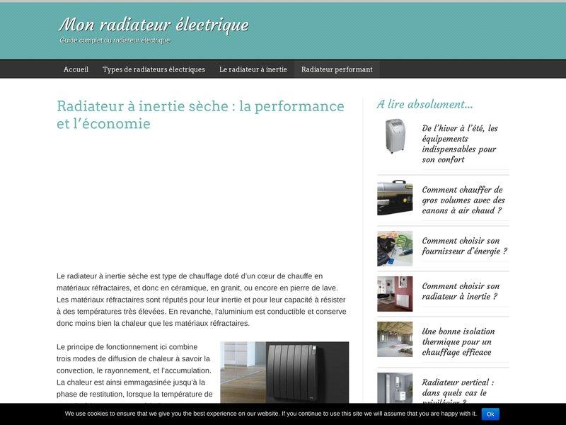 Mon radiateur electrique guide complet pour choisir et installer son radiat - Choisir son radiateur electrique ...
