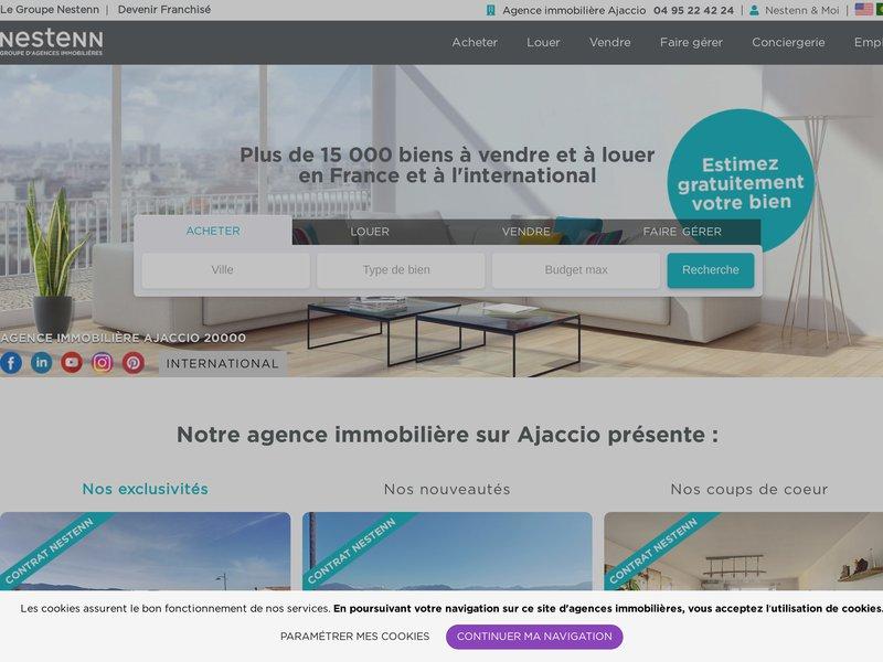 Solvimo ajaccio agence immobili re ajaccio 20000 for Agence immobiliere ajaccio