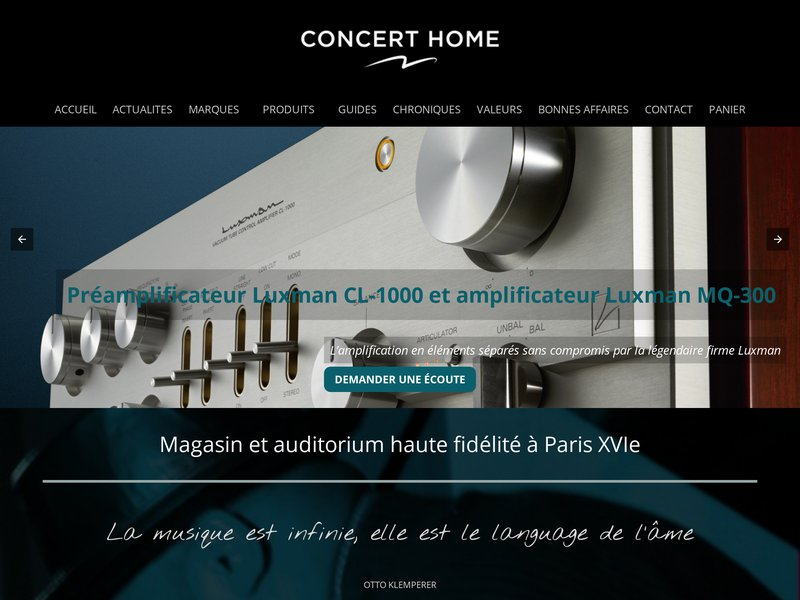 Concert Home