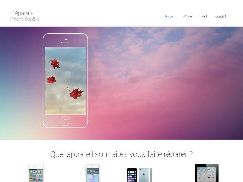 Reparation Ecran Iphone Geneve