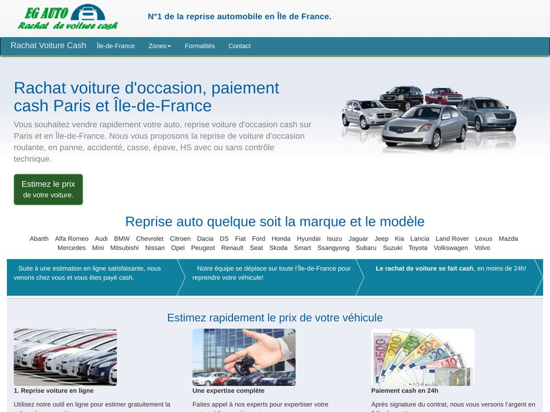 rachat voiture cash le leader de la reprise automobile en le de france