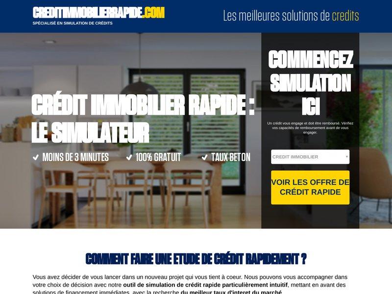 cr dit immobilier rapide portail internet pour la promotion du cr dit immobilier. Black Bedroom Furniture Sets. Home Design Ideas
