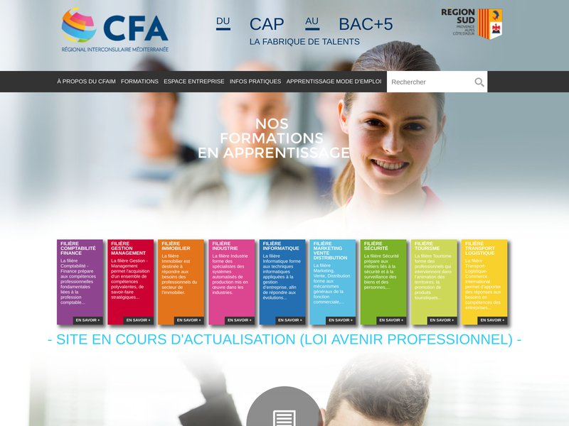 Apprentissage CCI