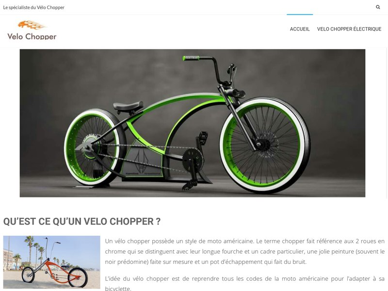 velo chopper informations utiles savoir sur le v lo chopper. Black Bedroom Furniture Sets. Home Design Ideas