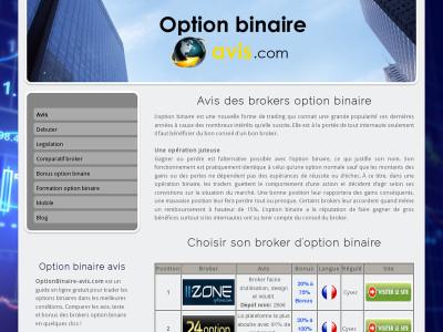 Apprendre a trader option binaire