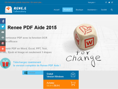 Convertir PDF en Word et transformer Word en PDF sous Windows