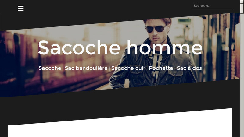 Sacoche homme