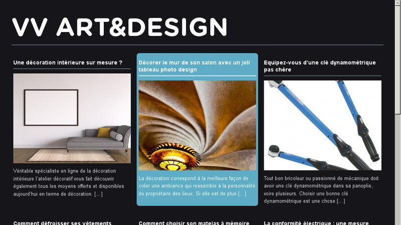 Art et design