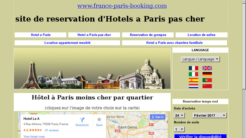 France-Paris-Booking